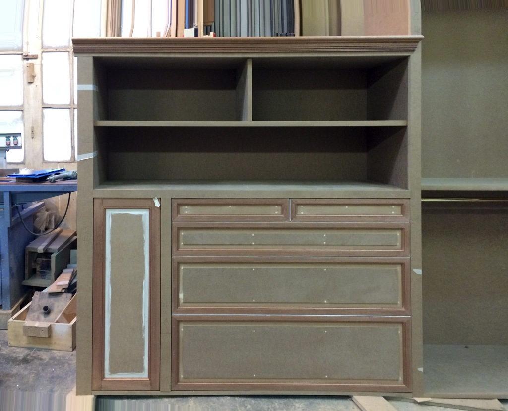 Fabrication de tiroirs pour dressing