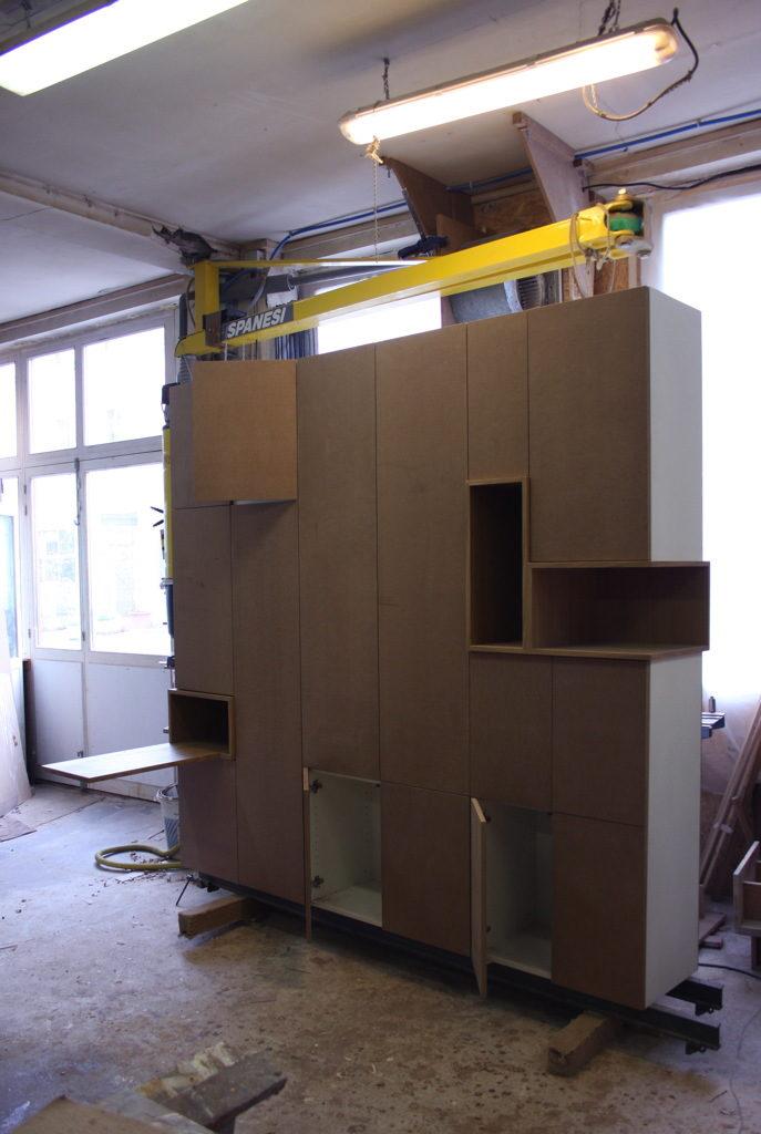 placard sur mesure design paris menuiserie desnoyer. Black Bedroom Furniture Sets. Home Design Ideas